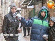 Snow in Palestine - Snow in Jerusalem Photo via QudsMedia - 49
