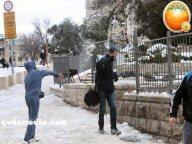 Snow in Palestine - Snow in Jerusalem Photo via QudsMedia - 50