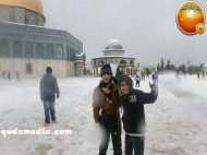 Snow in Palestine - Snow in Jerusalem Photo via QudsMedia - 52