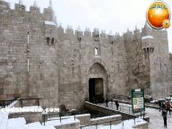 Snow in Palestine - Snow in Jerusalem Photo via QudsMedia - 53