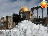 Snow in Palestine - Snow in Jerusalem Photo via QudsMedia - 55
