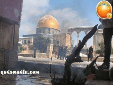 Snow in Palestine - Snow in Jerusalem Photo via QudsMedia - 57