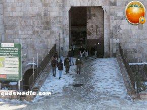 Snow in Palestine - Snow in Jerusalem Photo via QudsMedia - 58