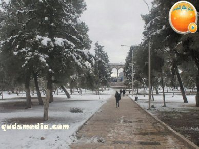 Snow in Palestine - Snow in Jerusalem Photo via QudsMedia - 60