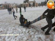 Snow in Palestine - Snow in Jerusalem Photo via QudsMedia - 61