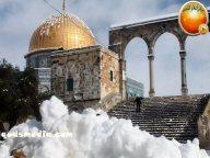 Snow in Palestine - Snow in Jerusalem Photo via QudsMedia - 62