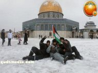 Snow in Palestine - Snow in Jerusalem Photo via QudsMedia - 68