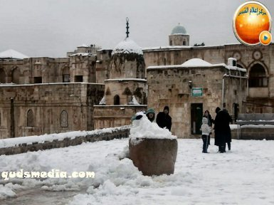 Snow in Palestine - Snow in Jerusalem Photo via QudsMedia - 71