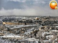 Snow in Palestine - Snow in Jerusalem Photo via QudsMedia - 73