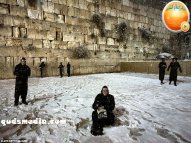 Snow in Palestine - Snow in Jerusalem Photo via QudsMedia - 74