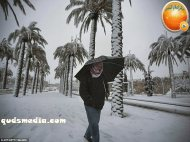Snow in Palestine - Snow in Jerusalem Photo via QudsMedia - 76