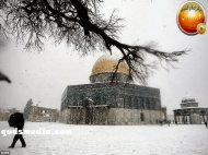 Snow in Palestine - Snow in Jerusalem Photo via QudsMedia - 77
