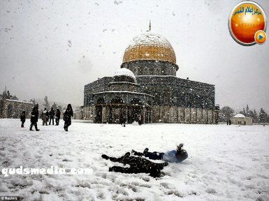Snow in Palestine - Snow in Jerusalem Photo via QudsMedia - 79