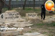 Febr 14 2013 Racist slogans on Jerusalem cenetery - Photo by QudsMedia 19