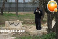 Febr 14 2013 Racist slogans on Jerusalem cenetery - Photo by QudsMedia 20