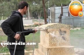 Febr 14 2013 Racist slogans on Jerusalem cenetery - Photo by QudsMedia 33