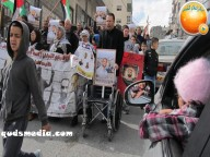 Febr 15 2013 March in solidarity with Samer Issawi Issawiya - Photo by Quds Media 20