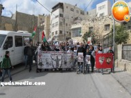 Febr 15 2013 March in solidarity with Samer Issawi Issawiya - Photo by Quds Media 23