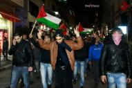 Febr 23 2013 Protest in Ramallah over death after torture of Arafat Jaradat - Photo by Shati Hathem 3