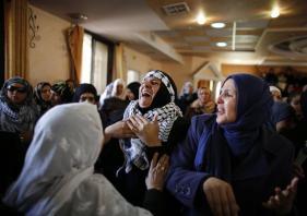 Febr 25 2013 Funeral Arafat Jaradat tortured to death by Israel - Photo by Ammar Awad 2
