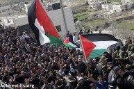 Febr 25 2013 Funeral Arafat Jaradat tortured to death by Israel - Photo by Anne Paq - ActiveStills 2