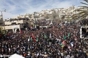 Febr 25 2013 Funeral Arafat Jaradat tortured to death by Israel - Photo by Anne Paq - ActiveStills 3