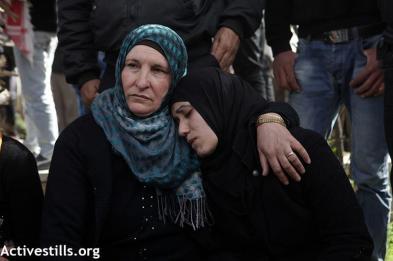 Febr 25 2013 Funeral Arafat Jaradat tortured to death by Israel - Photo by Anne Paq