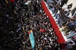 Febr 25 2013 Funeral Arafat Jaradat tortured to death by Israel - Photo by Darren Whiteside 2