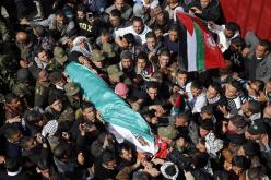Febr 25 2013 Funeral Arafat Jaradat tortured to death by Israel - Photo by Darren Whiteside