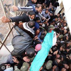 Febr 25 2013 Funeral Arafat Jaradat tortured to death by Israel - Photo by Eloise Bollack 2