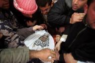 Febr 25 2013 Funeral Arafat Jaradat tortured to death by Israel - Photo by Hazem Bader 4