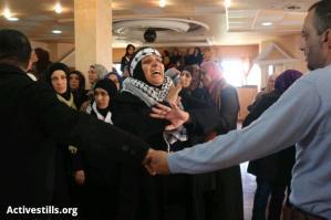 Febr 25 2013 Funeral Arafat Jaradat tortured to death by Israel - Photo by Oren Ziv - ActiveStills 2