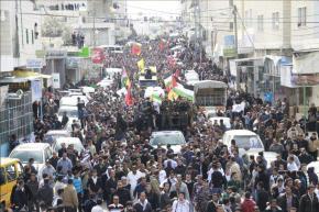 Febr 25 2013 Funeral Arafat Jaradat tortured to death by Israel - Photo by Raya 10