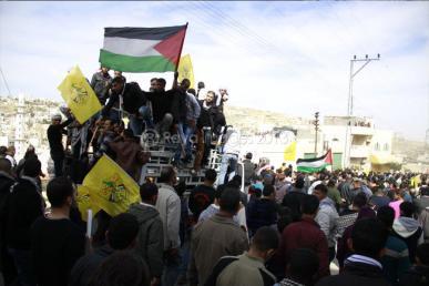 Febr 25 2013 Funeral Arafat Jaradat tortured to death by Israel - Photo by Raya 7