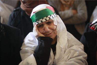 Febr 25 2013 Funeral Arafat Jaradat tortured to death by Israel - Photo by Raya