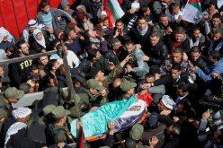 Febr 25 2013 Funeral Arafat Jaradat tortured to death by Israel - Photo by WAFA 3