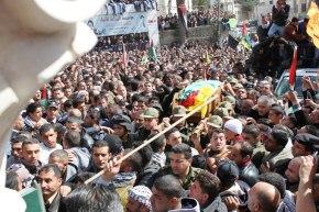 Febr 25 2013 Funeral Arafat Jaradat tortured to death by Israel - Photo by WAFA 5