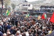 Febr 25 2013 Funeral Arafat Jaradat tortured to death by Israel - Photo by WAFA 6