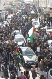 Febr 25 2013 Funeral Arafat Jaradat tortured to death by Israel - Photo by WAFA 8