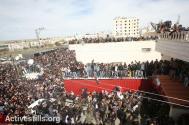Febr 25 2013 Funeral Arafat Jaradat tortured to death by Israel - Photo by Yotam Ronen - ActiveStills