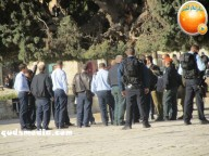 Febr 7 2013 Settlers and armed forces desecrate al-Aqsa Mosque - Photo by QudsMedia 18