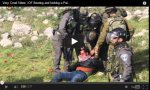 kicking beating israeli israel soldiers palestine shocking video