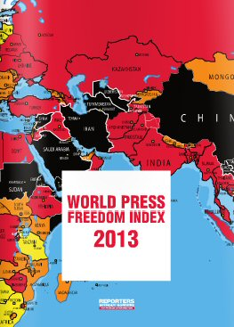 world press freedom index 2013