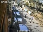 cctv footage surveillance camera caught israel attack settlers children