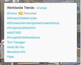 #hungerstrikeresistance Trending on Feb28