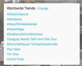 #issawirage Trending on Feb16