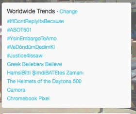 #justice4issawi Trending on Feb21