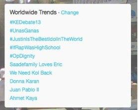 #opdignity Trending on Feb12