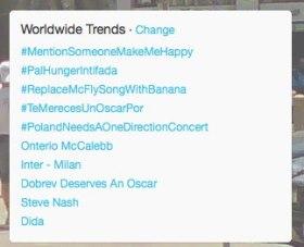 #palhungerintifada  Trending on Feb24