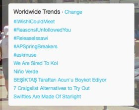 #releaseissawi Trending on Feb18